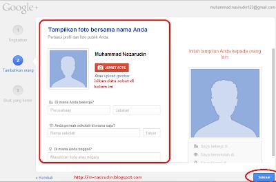 Foto Profil Google +