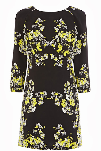 warehouse blossom dress