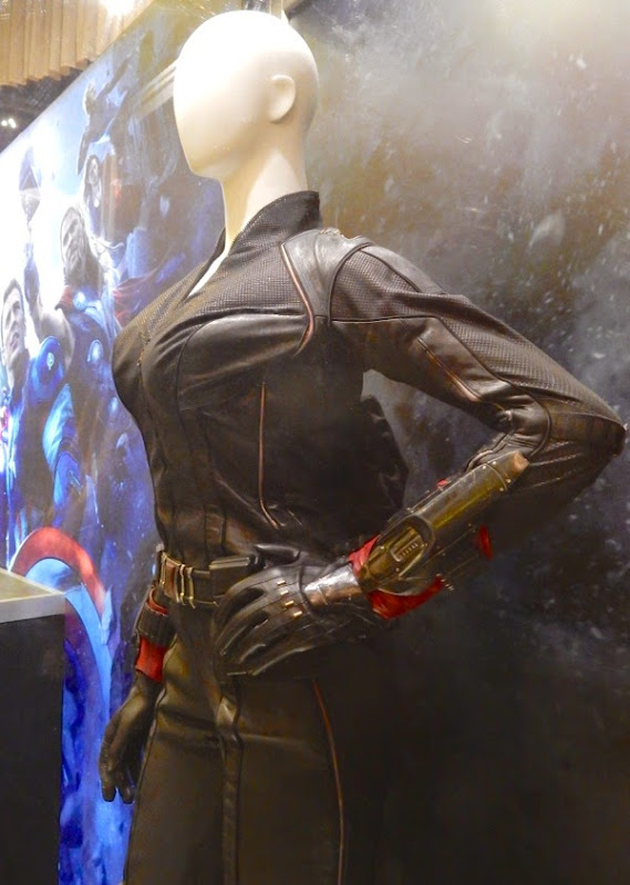 Avengers Age of Ultron Black Widow costume