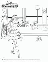 Barbie Princess And The Popstar Keira Coloring Pages