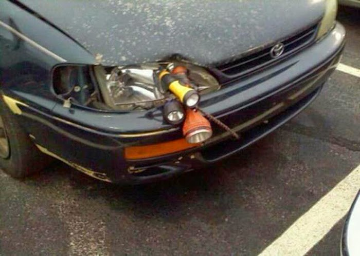 Funny Creative Car Repairs