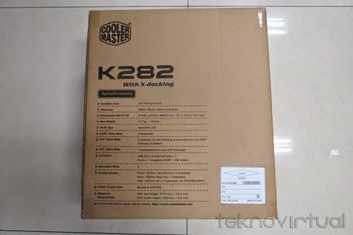 Kemasan Casing Cooler Master K282