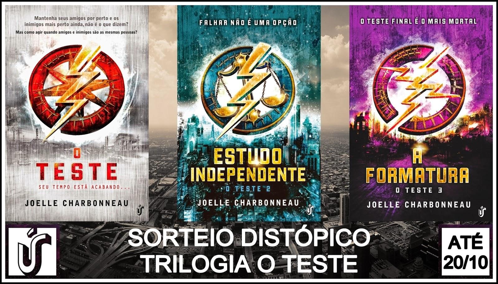 Sorteio Distópico * Trilogia O Teste