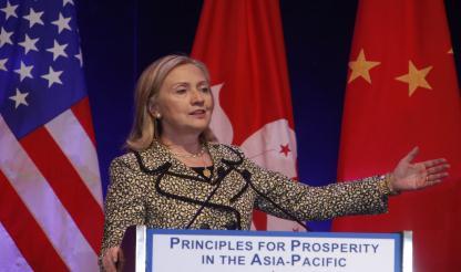 Hillary Clinton disse acreditar num acordo sobre a dívida dos EUA para tranquilizar a Ásia