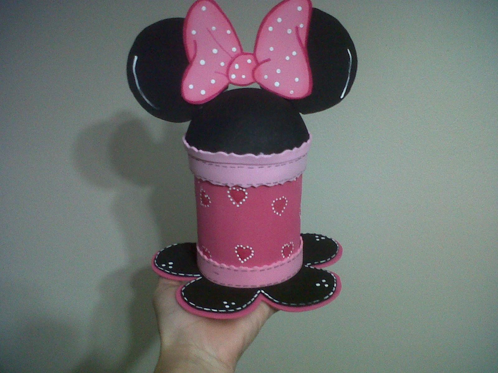 Dulceros De La Minnie Mouse