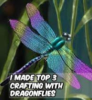 I won Top 3 at Crafting with Dragonflies!