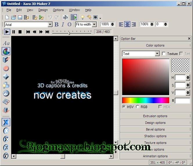 Download xara 3d maker v7 2011