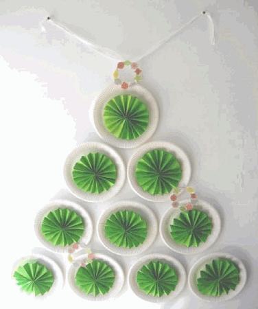 originales rboles de navidad reciclados ideas para decorar