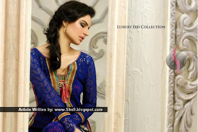 Luxurious Dress for Glamorous Look by Asim Jofa