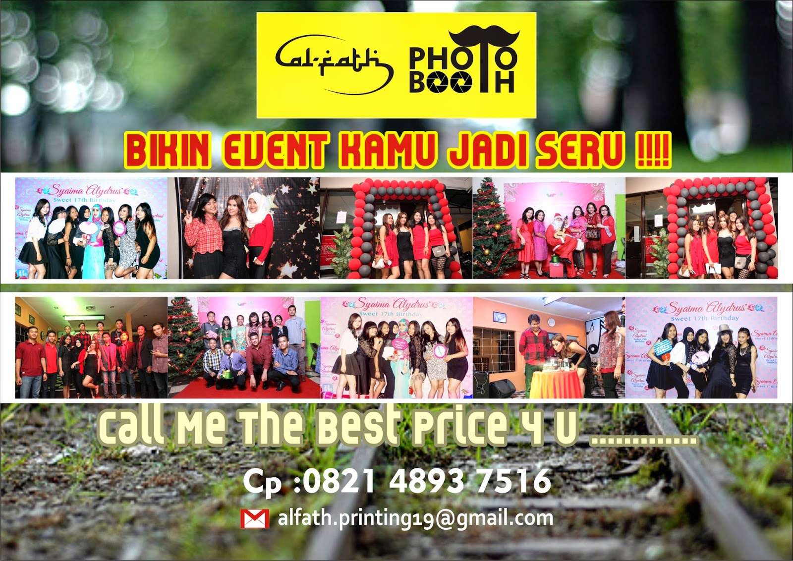 backdroop photo booth balikpapan