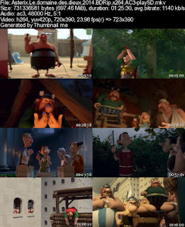 Asterix Le domaine des dieux (2014) BDRip x264 AC3-playSD (Movie)