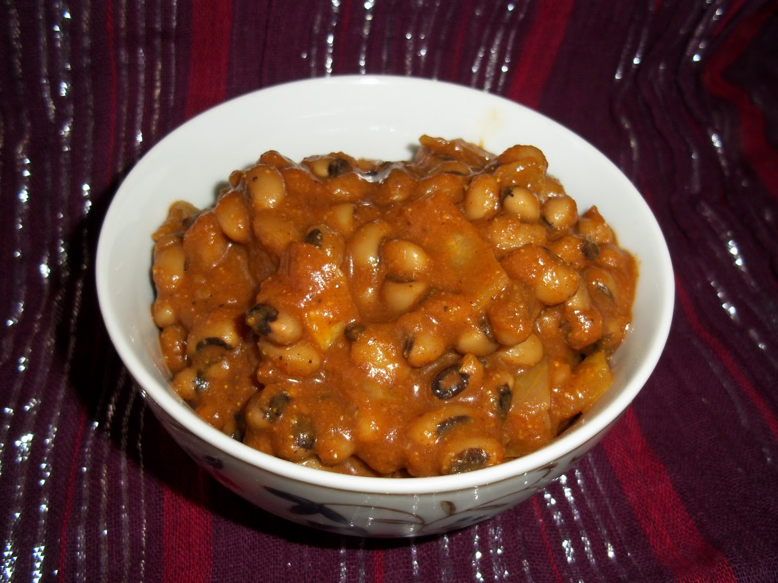 Black Eyed Pea Curry Recipe | Penniless Parenting