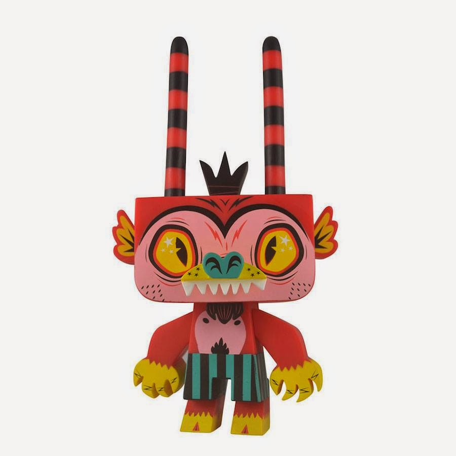 Singapore Toy, Games & Comic Convention 2014 Exclusive Firecracker Edition Sylvan Vinyl Figure by Gary Ham