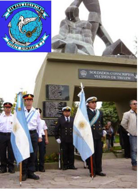 La FAE3 presente en la ceremonia del Día del Veterano y de los Caídos en la Guerra de las Malvinas