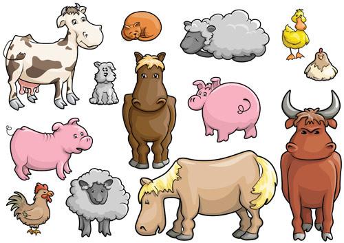 Las cosas que aprendo: LOS ANIMALES DE LA GRANJA