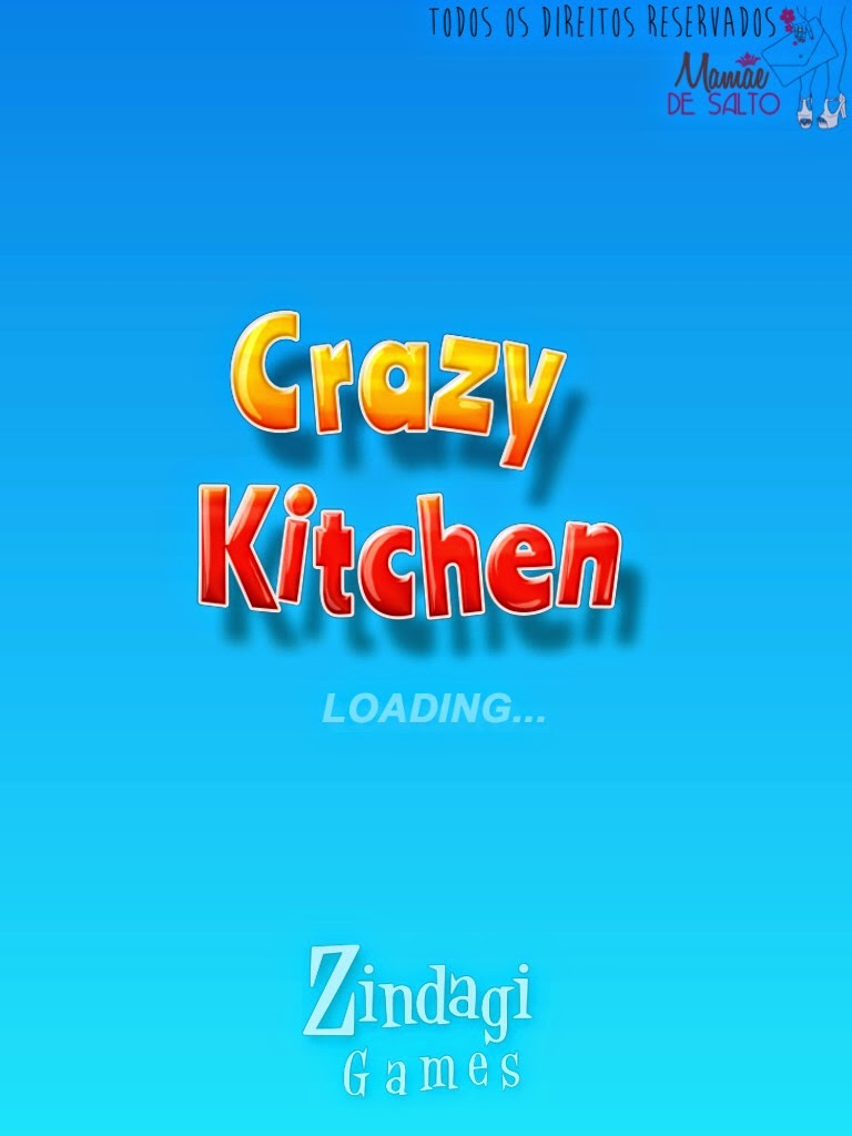 dica de aplicativo iphone e ipad jogos Crazy Kitchen - blog Mamãe de Salto