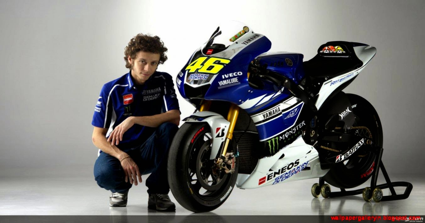 group of yamaha m1 vr46 wallpapers