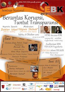 seminar nasional anti korupsi