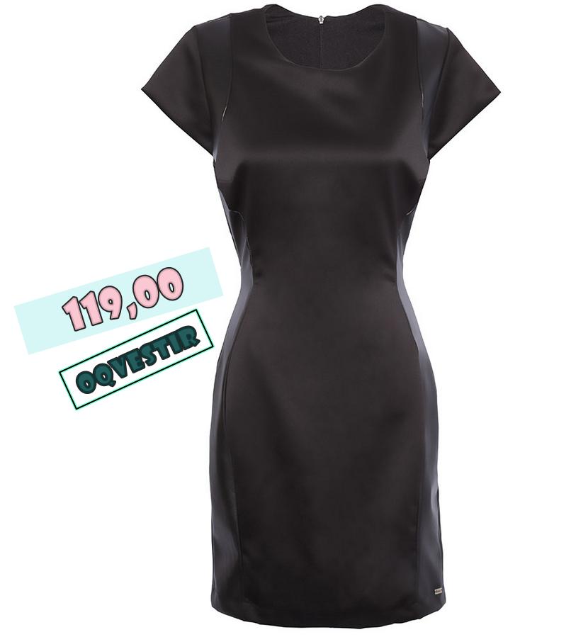 Priscilla ancantara vestido de couro baratinho
