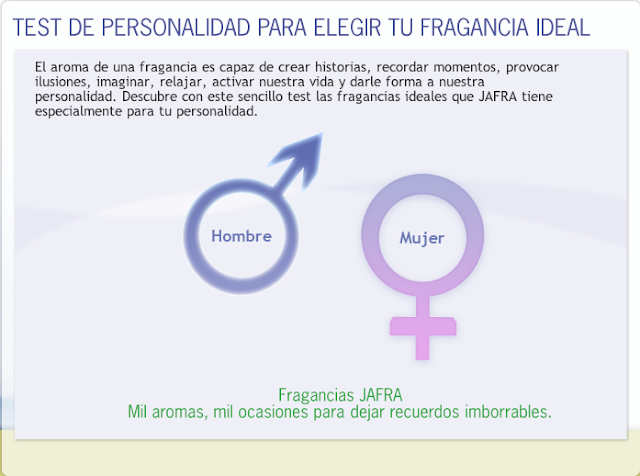 Jafra m xico folleto oportunidades test de fragancias for Test trabajo ideal