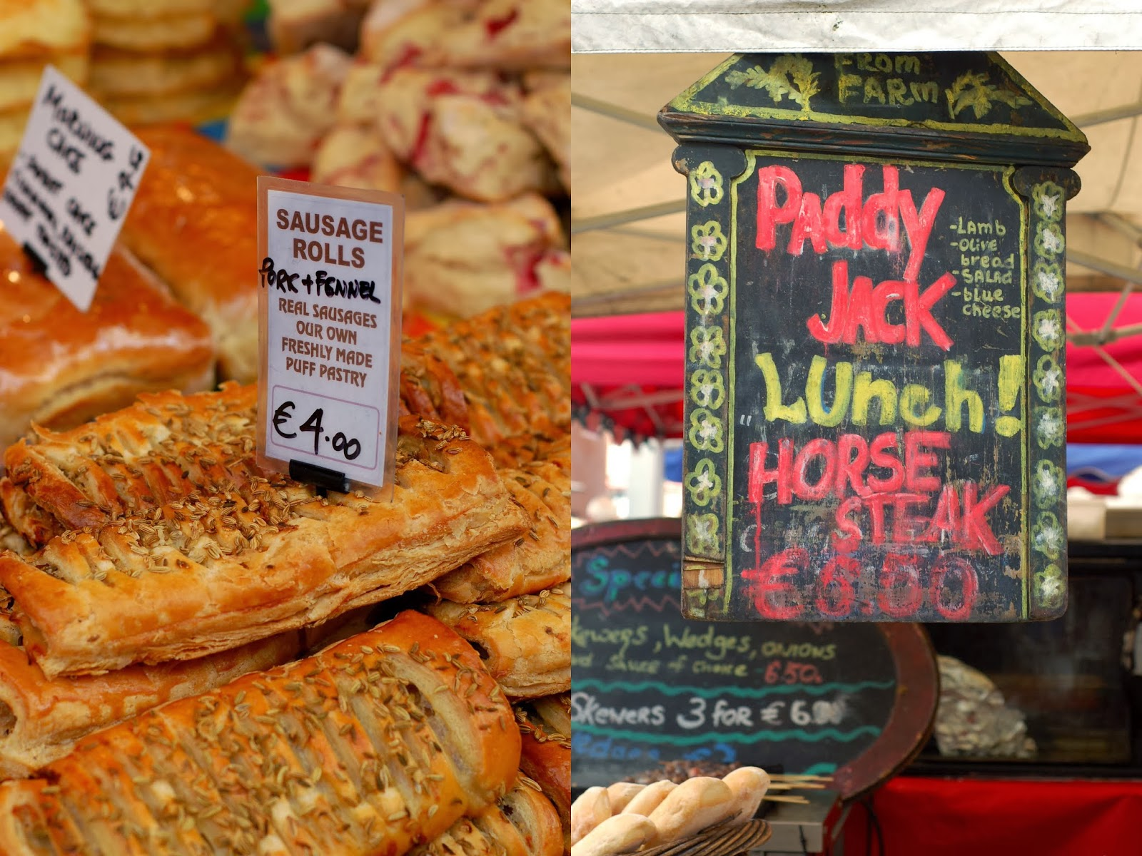 Temple bar food market french foodie in dublin food for Bar food vegetarian