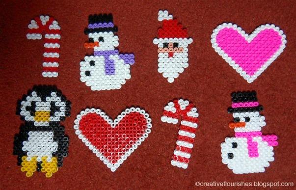 Creative Flourishes Bead Christmas Decorations