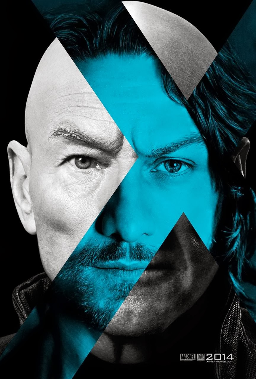 Sir Patrick Stewart/ James McAvoy – Professor X