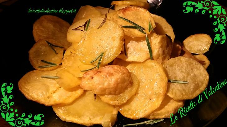 Famoso Le Ricette di Valentina: Chips di patate con la friggitrice ad aria XR67