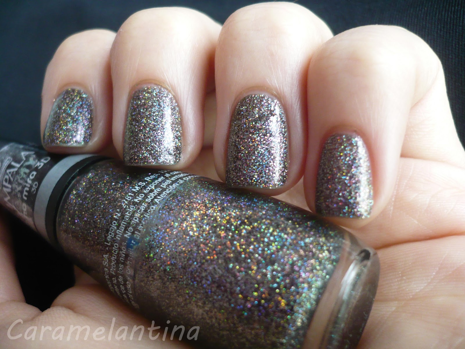 Esmalte holográfico glitter, opiniones swatch review