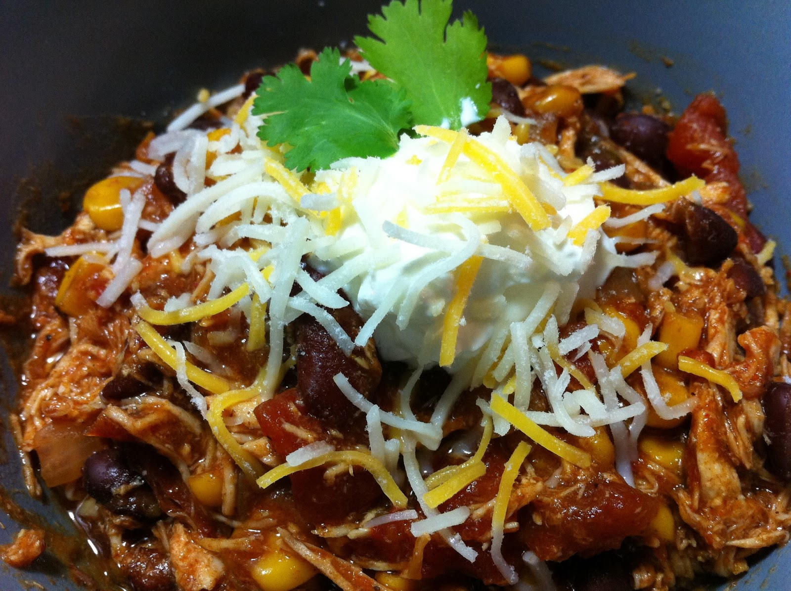 Cooking with SAHD: Crock Pot Chicken Taco Chili