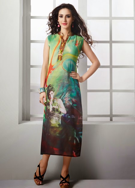 Latest and sizzling style long