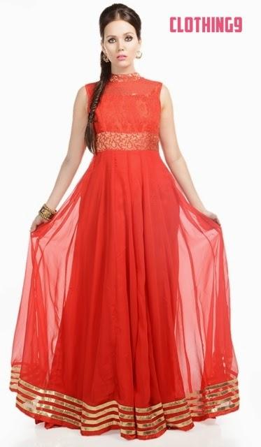 Eid Fancy Dresses 2014-2015
