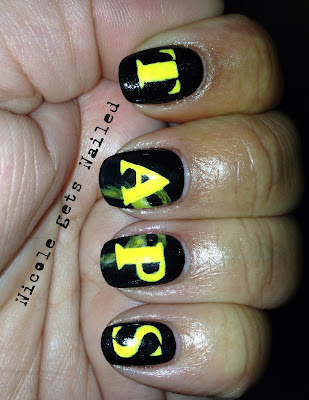 Ghost Hunters TAPS Nail Art