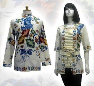 baju batik model terbaru