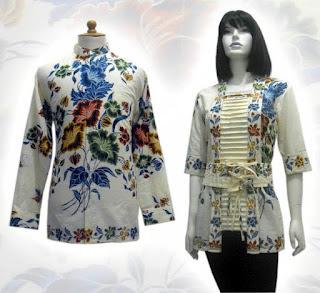 Model Baju Baju Batik Modern Terbaru 2014