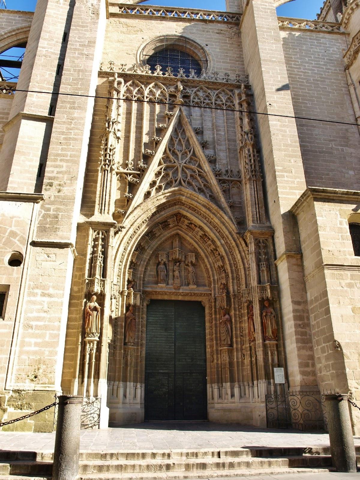 Sevilla daily photo la puerta del bautismo 1 la historia - Puertas uniarte sevilla ...