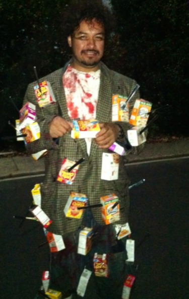 Cereal Killer Halloween Costume by Shorebread