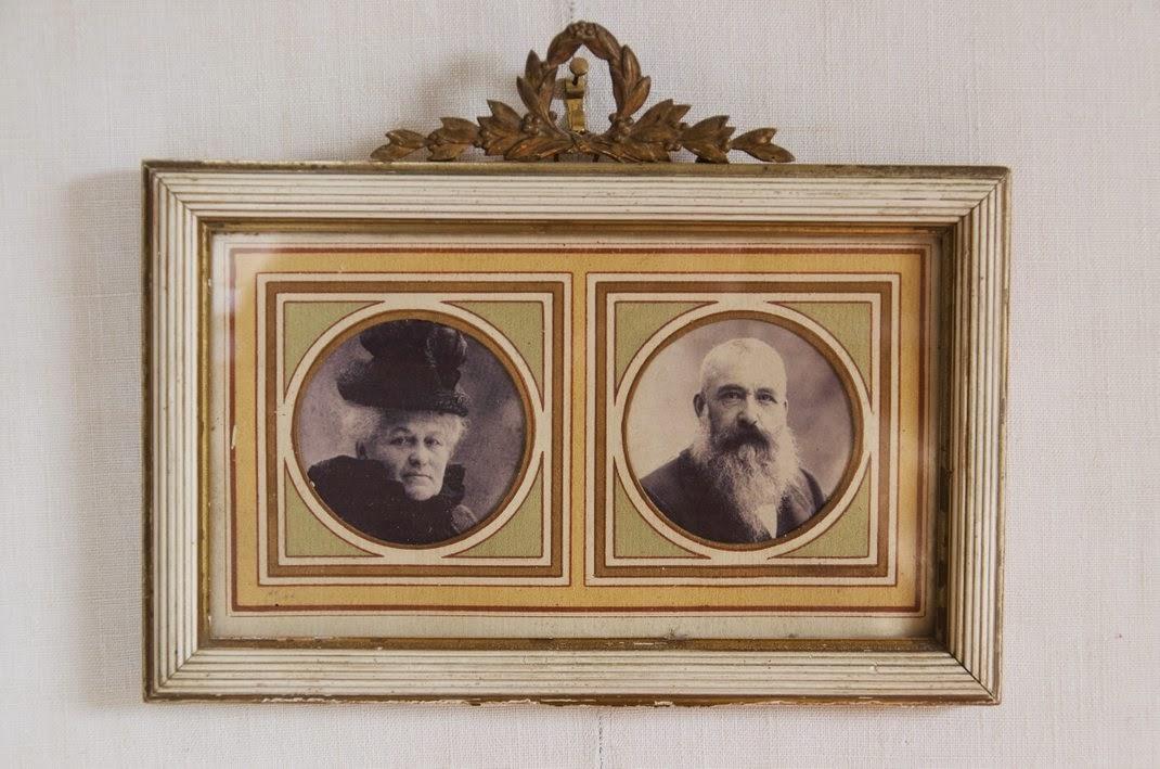 Giverny  - maison de Monet - chambre