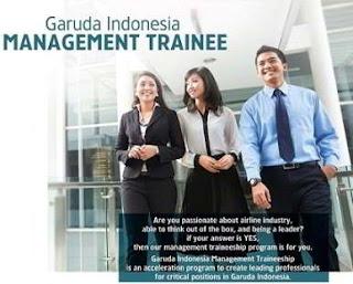 Lowongan Kerja di Garuda Indonesia sebagai Management Trainee-IT