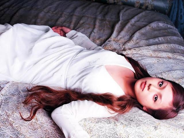 Model and Singer Fukada Kyoko
