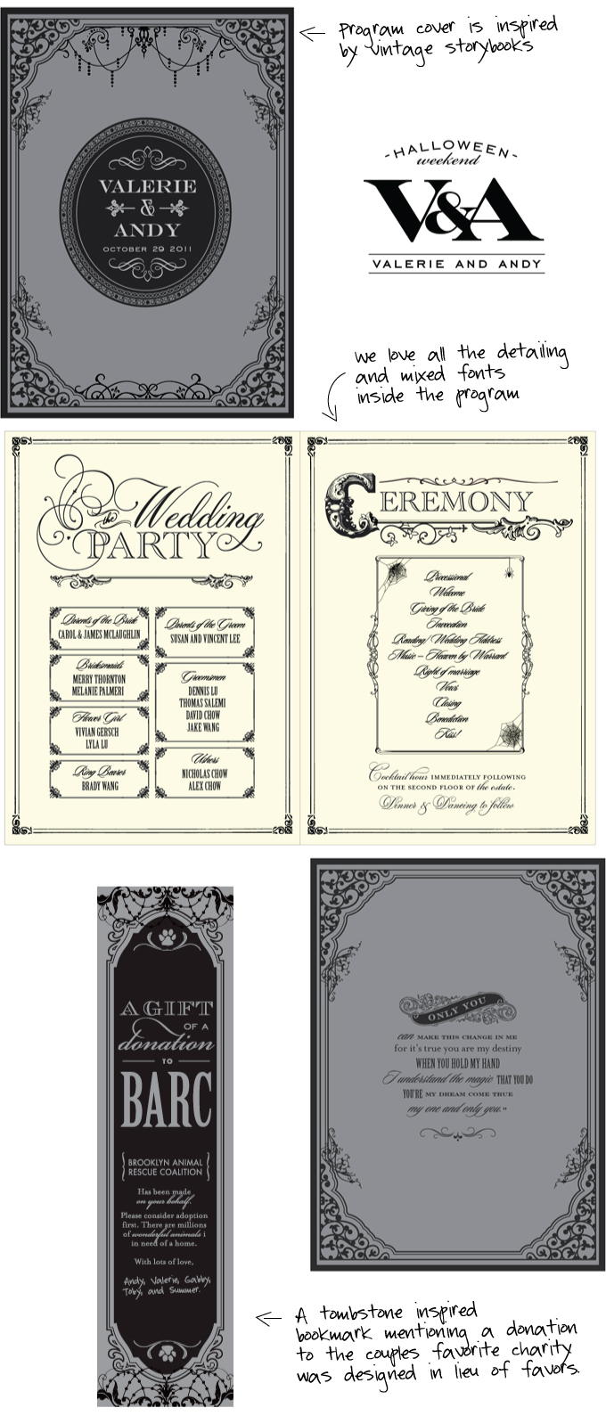Halloween Wedding Invitations: Taking custom design to a whole new ...