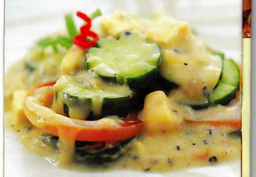 Resep Zucchini Lada Hitam