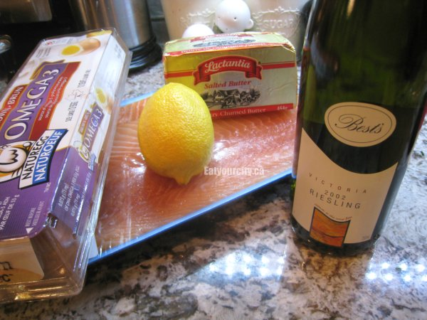 ... City: Super easy poached salmon with scratch Hollandaise sauce recipe