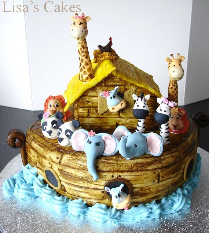 Noahs Ark Cake Video
