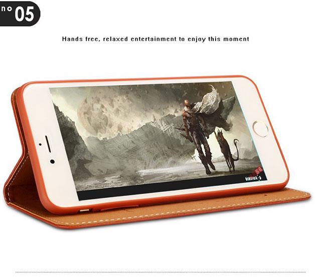 เคส iphone 6s ฝาพับ ล็อคแม่เหล็ก