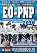 Ultimo examen de APTITUD y CONOCIMIENTOS EO-PNP