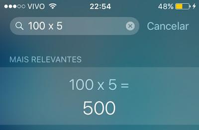 Cálculos - Siri