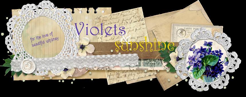 Violets & Sunshine