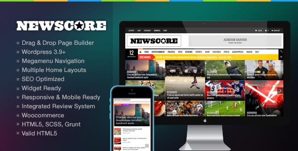 Free News WP theme