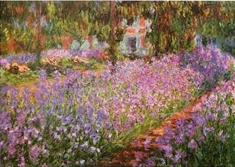 Monet - giardini di primavera